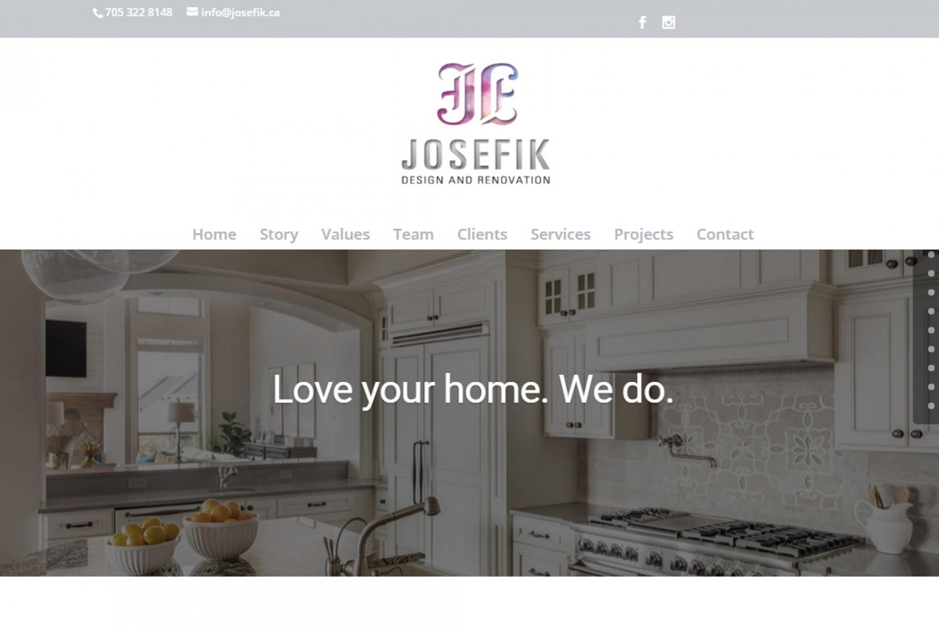 Josefik Website